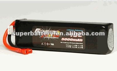 5000mAh 4S 14.8V lithium-polymer UAV ,ARF kit battery Alibaba express