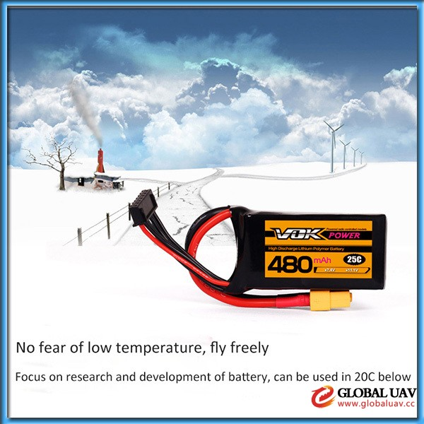 lipo Battery 3.7v 480mAh Lithium polymer Battery small lipo battery