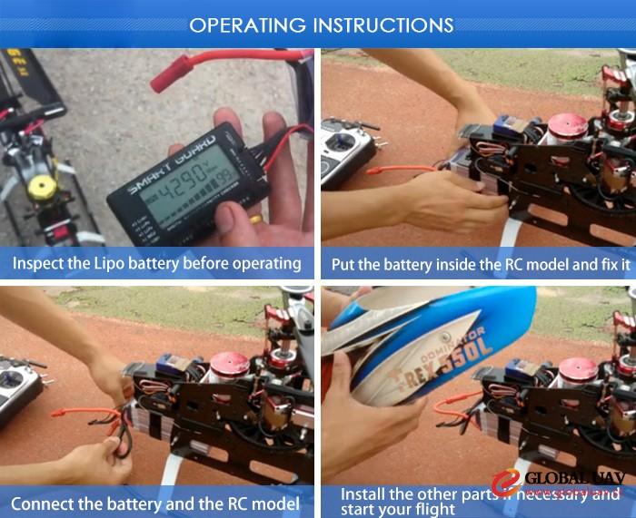 VOK 25C Lipo Battery 6S 22.2V 16000mAh for UAV