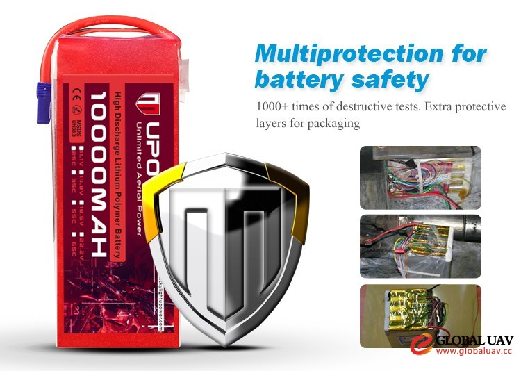 wholesale hobby 6s 22.2v 10000mah battery 25c