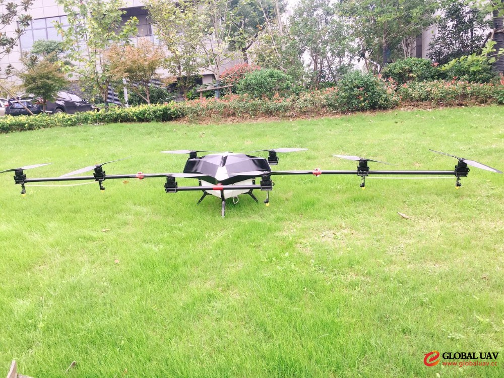 uav drone crop sprayer professional rc agriculture aircraft 15kg