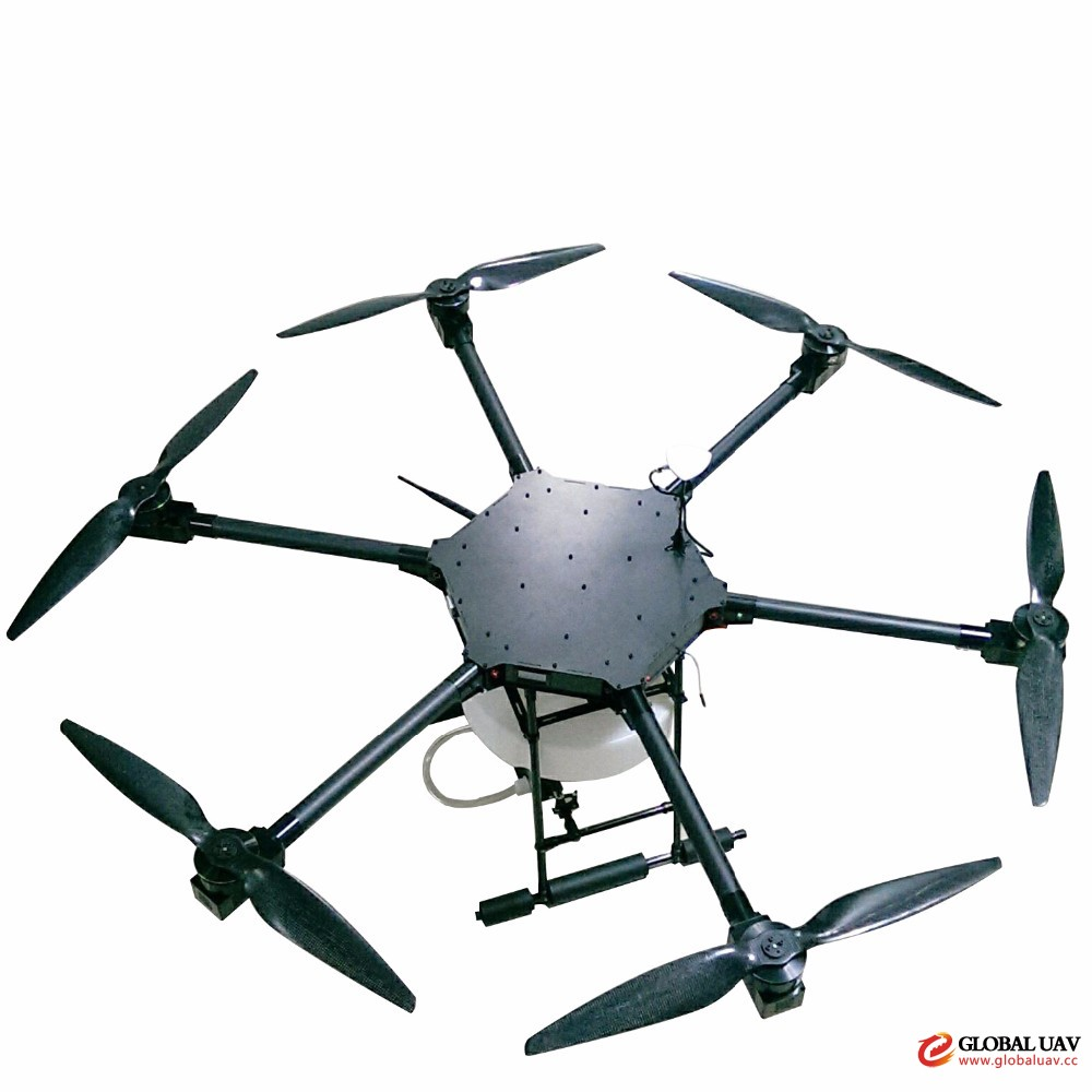 Hot selling agriculture RC drone with Pesticide Crop Sprayer GPS locate radio co<em></em>ntrol UAV drone in low price
