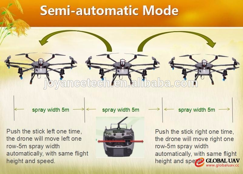 10liter sprayer drone for agriculture crop spraying with gps and autopilot system