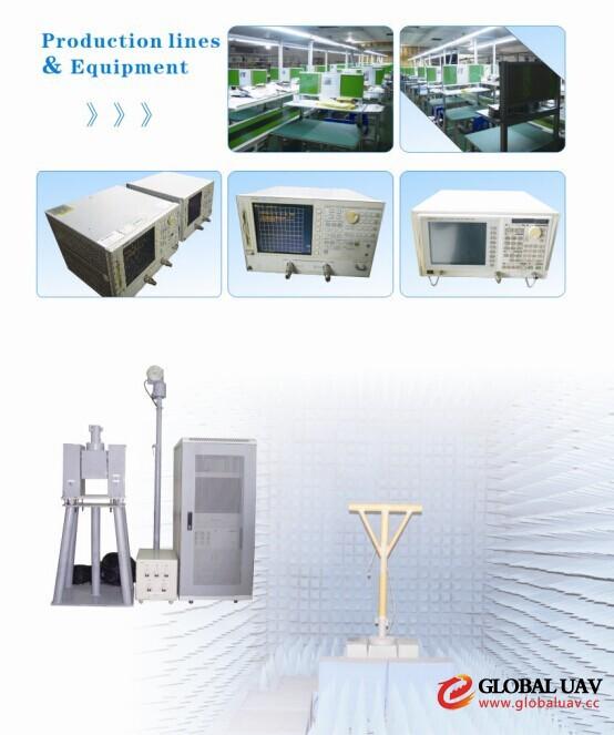 700-2700mhz 5dbi Omni ABS Terminal UAV Antenna