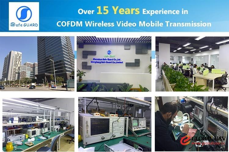UAV vehicle use video data transmission high gain magnet antenna