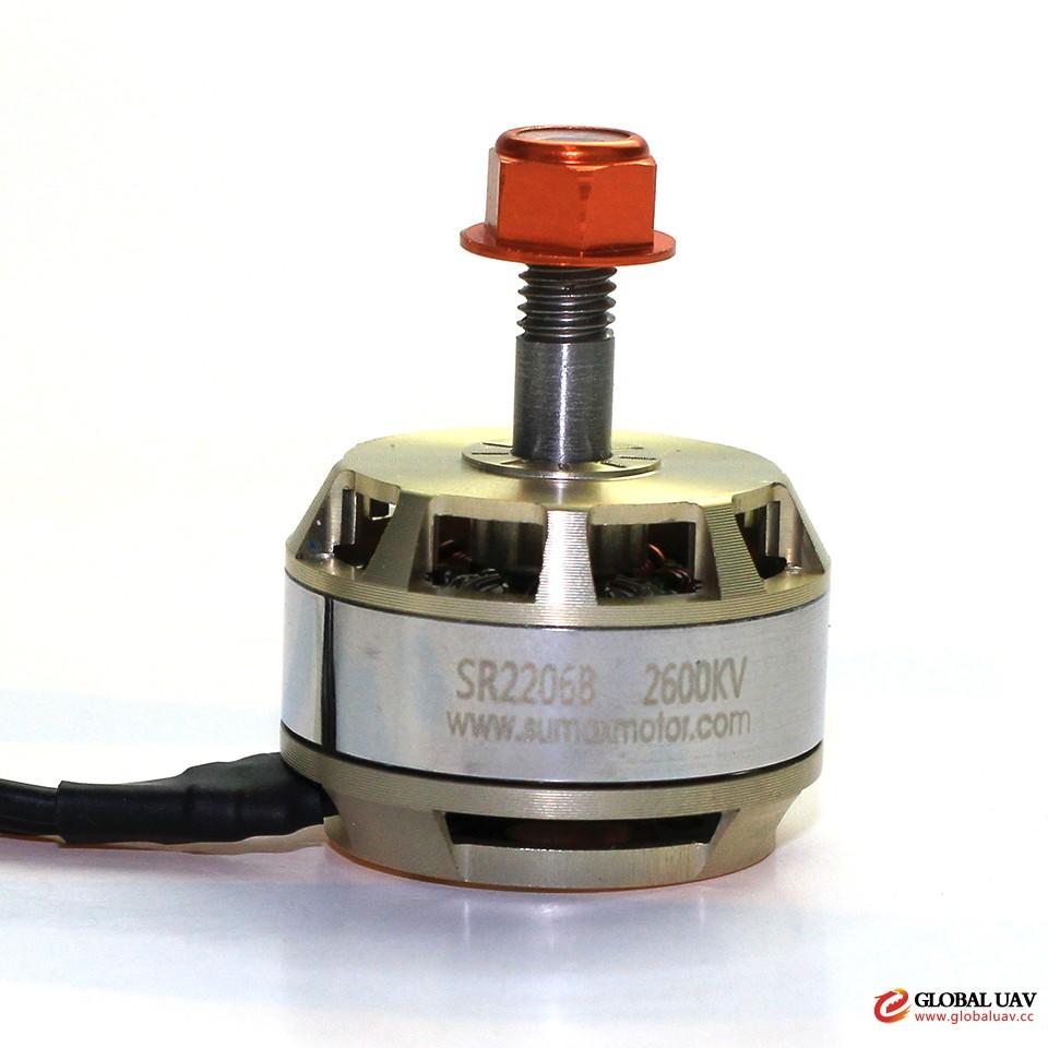 SUMAX SR2206EH 2206 2300KV 2600KV Brushless Motor for FPV Racing Drone Quadcopter UAV 7075-T7 Material