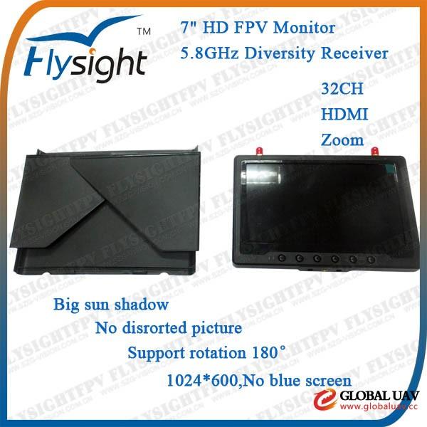 B56 FPV Diversity Receiver Mo<em></em>nitor RC Radio Co<em></em>ntrol Octokopter UAV Drone Helicopter