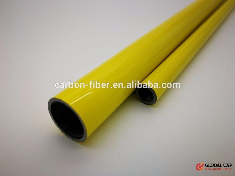 25mm solid carbon fiber rod tube for Agriculture UAV drone spraying pesticides