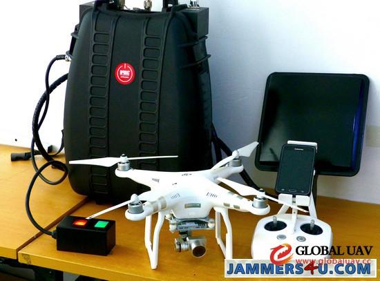 CT-4035H-UAV Menpack Directio<em></em>nal Drone UAV 120W Jammer up to 1500m