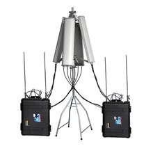 CT-8078ATW-HGA High Power 640W Drone Jammer 2.4Ghz 5.8Ghz GPS L1 L2 433Mhz 900Mhz up to 6000m