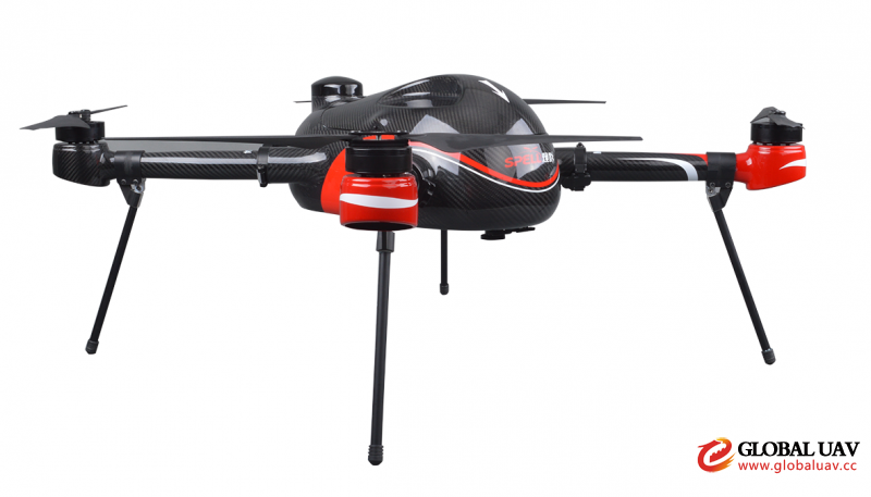 Z4M黑 (4)Hot Sale ZF4M Industrial Drone 42 Mins Long Flight Time