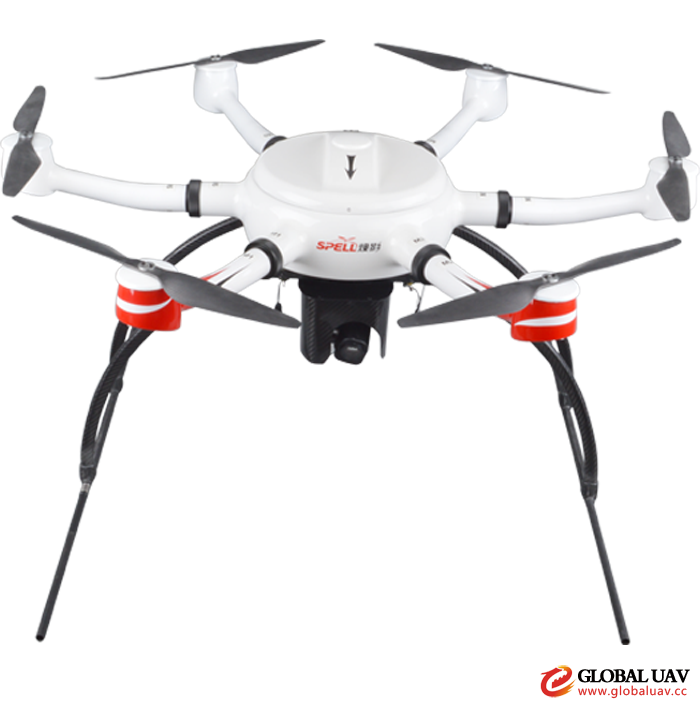 KWT-X6M Hexacopter Agile and Fast Use 50 Mins Long Flight Time
