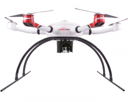 Hexacopter Agile and Fast Use 50 Mins Long Flight Time