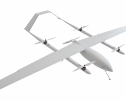 Military Hybrid VTOL Fixed-wing vertical take-off landing