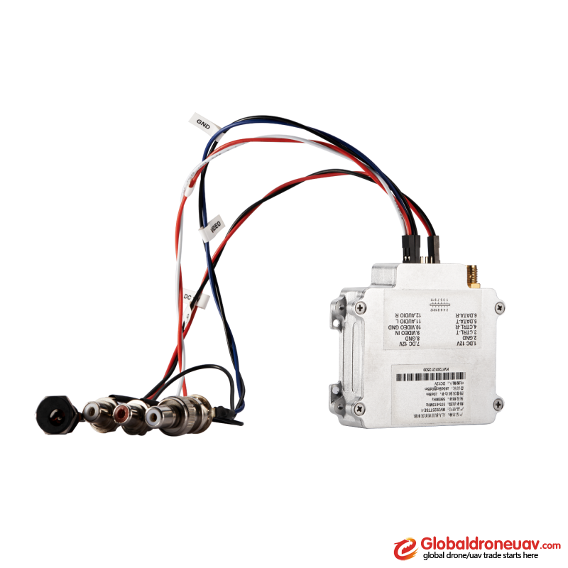 DSC_5093 HD wireless mobile video transmitter on drone