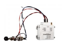 HD wireless mobile video transmitter on drone