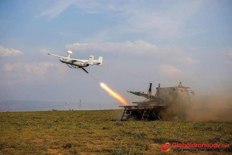 Reco<em></em>nnaissance drone launched in Firepower-2017 Qingto<em></em>ngxia exercise