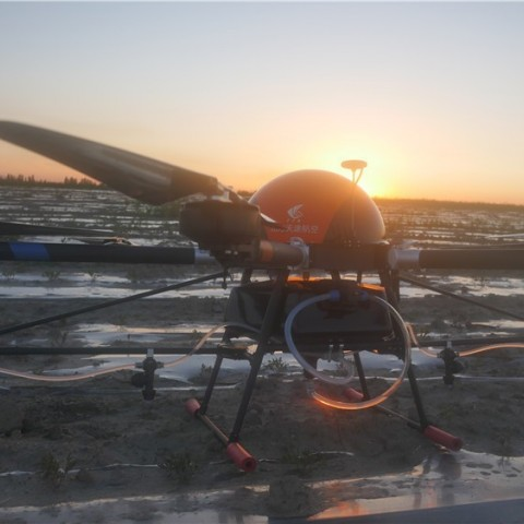 TTA 6 rotors agriculture farm drone uav sprayer