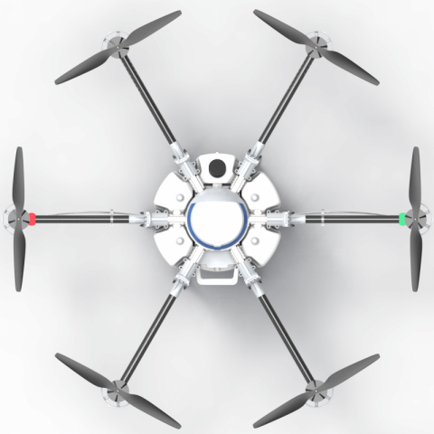 drone crop sprayer for agriculture and spraying pesticide