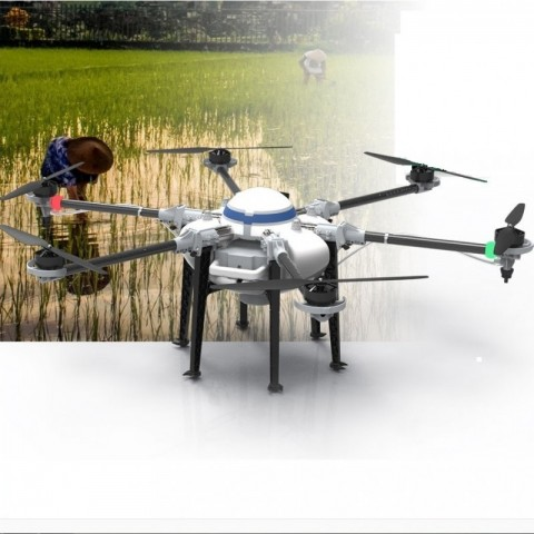 6-rotor drone agriculture pesticides spraying machine drone