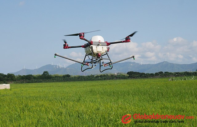 What Is the Spraying System of Agricultural Drone?_