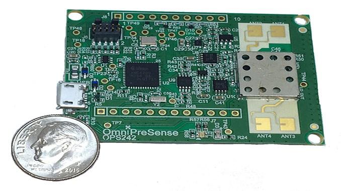 OmniPreSense Unveils Short Range Radar Sensor for UAVs