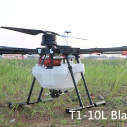 2018 newest agriculture spraying drone T1-10L Black Hawk
