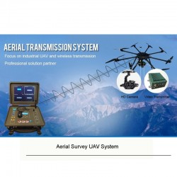 Industry grade multi-rotors Aerial photo survey UAV/drone