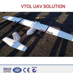 RTK/PPK fixed wing mapping drone