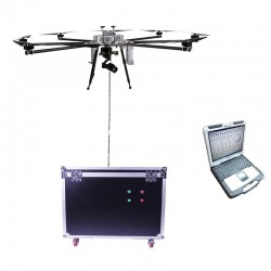 100m height hovering auto follow uav drones for police security