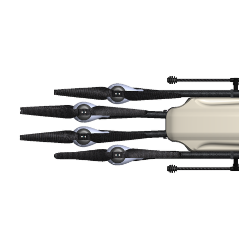 AiD-MC8 - Electrical Coaxial Octocopter Drone