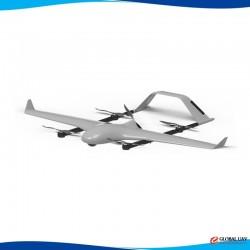 DA-VTOL-E vertical take-off and landing fixed wing UAV