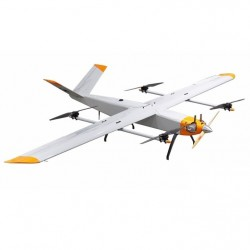 ZAF35 fixed wing vertical landing land survey aerial photography drone long endurance long range UAV