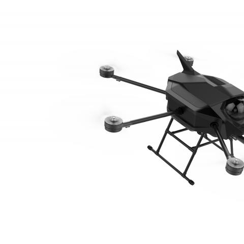 Reconnaissance/attack armed UAV