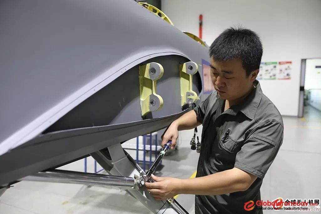CH-4 drone Production workshop
