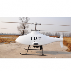 TD220 coaxial dual-rotor unmanned helicopter